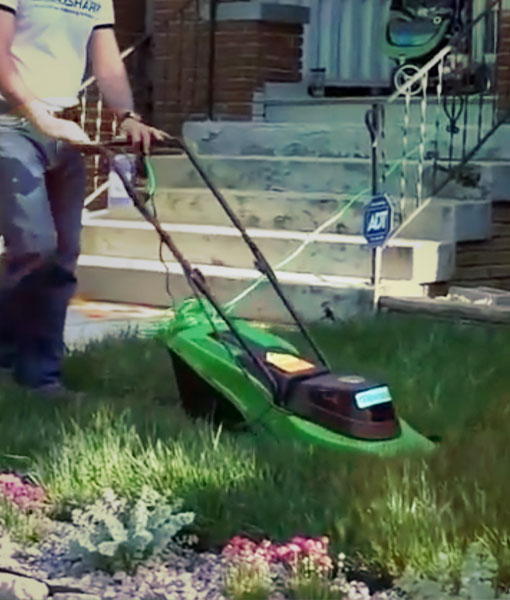 ac1ab4a35a2d Original Mini Mower – RazarSharp Green Solutions for Urban Lawns ...